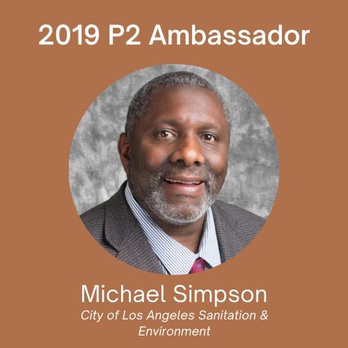 2020 P2 Ambassador: Mark Rossi, Executive Director, Clean Production Action